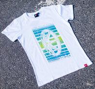 JR Men's T-Shirt JR-20 Face White