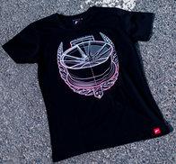 JR Men's T-Shirt JR-21 Laurel Black