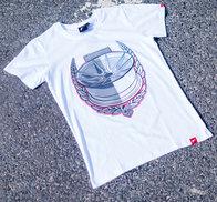 JR Men's T-Shirt JR-21 Laurel White