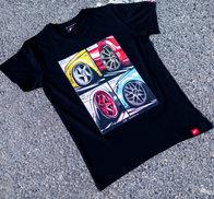 JR Men's T-Shirt MIX Black