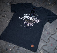 JR Men's T-Shirt Rolling DarkGray