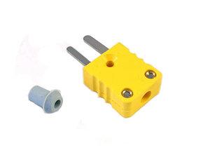 Kontaktdon 2-poligt hylsdon Mini-k (typ-k element) HANE
