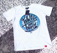 JR Men's T-Shirt Trust White