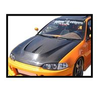 Carbon Fibre bonnet Honda Civic 1992 2/3-door, with air intake