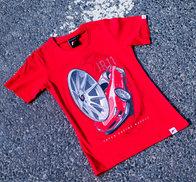 JR Women's T-Shirt JR-11 Car Red