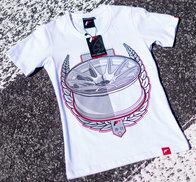 JR Women's T-Shirt JR-11 Laurel White