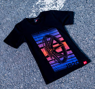 JR Women's T-Shirt JR-20 Face Black